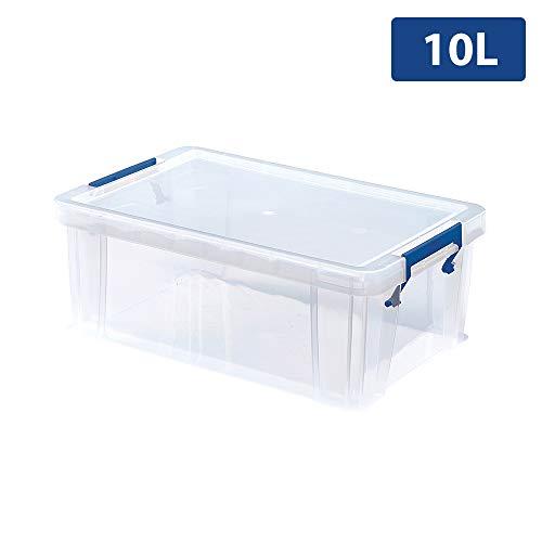 BANKERS BOX Prostore Plastic Opbergdoos 10 Litre Helder