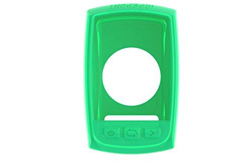 iGPSPORT Funda para Ciclo-computador iGS50E (Funda Oficial) - Fabricado en Silicona TPU, Protección Ante Polvo, Golpes y abrasión, Accesibilidad a Botones y conexión Micro USB, Grosor 2mm (Verde)