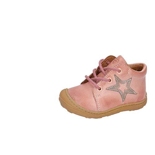 RICOSTA Kinder Lauflern Schuhe Romy von Pepino, Weite: Mittel (WMS), schnürschuh schnürstiefelchen leicht Kids Maedchen,Rose,26 EU / 8 Child UK