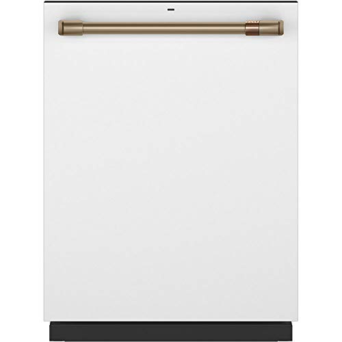 Cafe 24' Matte White Built-In Dishwasher