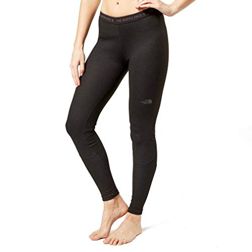 The North Face W Easy Tights TNF Black Baselayer, Mujer, TNF Black, M