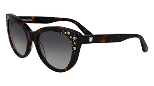 Karl Lagerfeld KL966S, Acetate - Gafas de Sol Dark Havana Unisex para Adulto, Multicolor, estándar