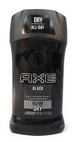 AXE Black Antiperspirant Deodorants Stick, 2.7 Oz (Pack of 2)