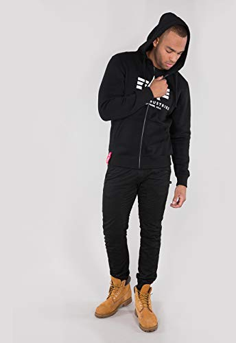 Alpha Industries Basic Zip Hoodie Schwarz M