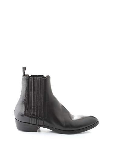 SILVANO SASSETTI Luxury Fashion Mens Ankle Boots Winter Black