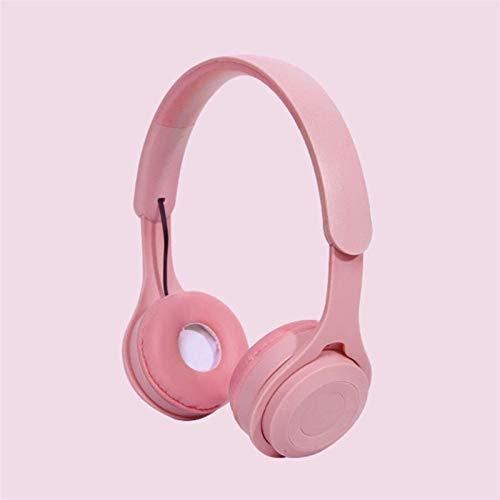 Kabelloses Headset, Plug-in-Version eines dreidimensionalen Telefons und Tablets, universell (Farbe: Rosa).