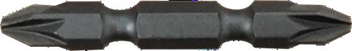 PATTA 10er Packung doppelseitige PZ2/PZ2x50mm Pozidriv-Kreuzschlitzschraubenzieher Bits für Bohrmaschinen und Akkuschrauber