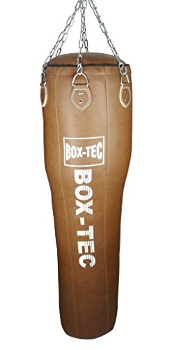 Box-Tec Boxsack Sandsack Uppercut Retro, gefüllt inkl. Sechspunkt-Kette mit Drehwirbel