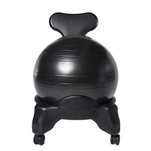 HTQ Fitness Massagestuhl Büro Heimcomputer Explosionsgeschützter Verdickter Ballstuhl...