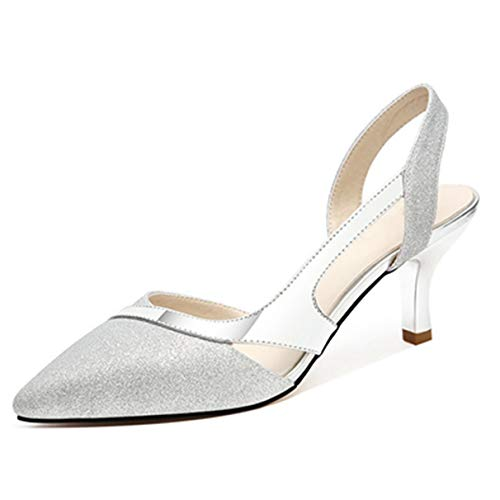 Frauen Elegante Stiletto Sandalen Spitz Frauen Casual Pumps Pumps
