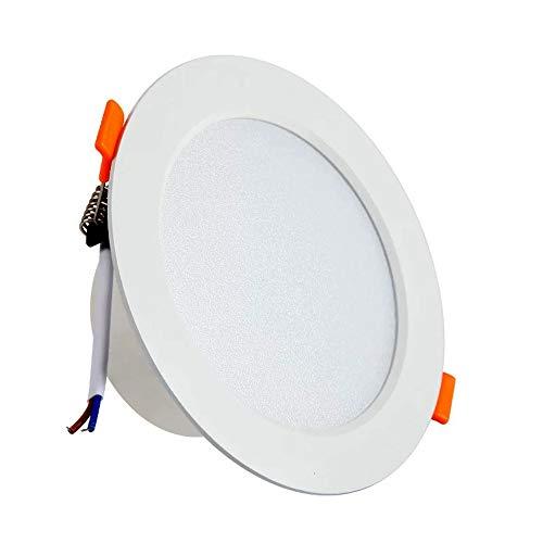 6W Panel LED, Iluminacion LED Slim Blanco Neutro Adecuado para Oficinas, Dormitorios, Baños, Salones, Balcones y Pasillos, etc