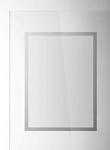 Durable 484223 Info-Rahmen Duraframe Sun (A3, Rahmen für Schaufenster) 2 Stück silber