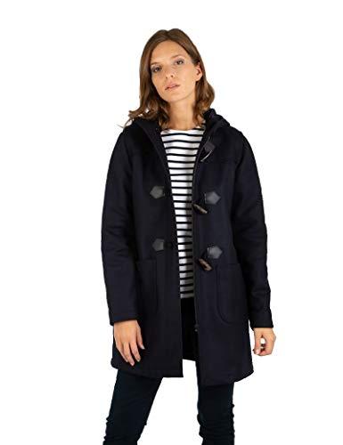 Armor Lux Femme Concarneau Duffle Coat, Rich Navy, 42 EU