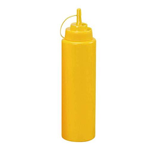 litulituhallo Botellas plásticas del condimento del chorro de la botella del apretón de la cocina con la torsión en