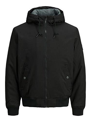 JACK & JONES Herren JJBERNIE Jacket Jacke, Black, L