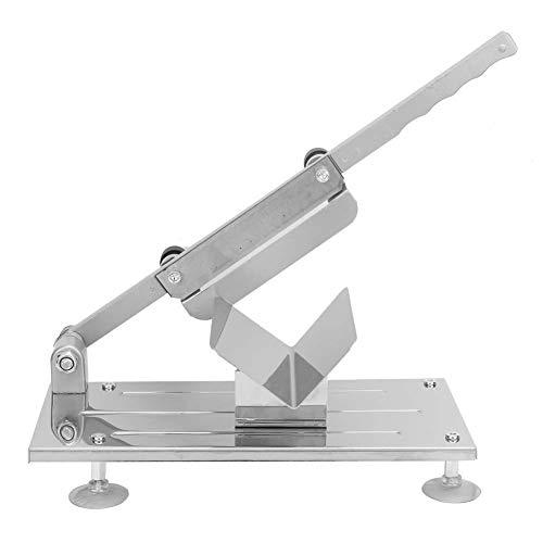 Manuell skärmaskin för fryst kött (justerbar manuell skärmaskin för frusen kött) Manuell skärmaskin för kött med fårrulle (dubbelkraftlagerkonstruktion)