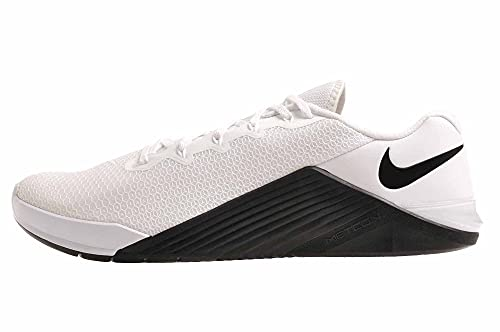 Nike Metcon 5, Zapatillas Deportivas Hombre, White/Black/Black, 48.5 EU