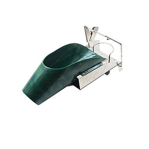 cortador de testículo de cerdo / dispositivo de corte de testículo de lechón de acero inoxidable / montado en la pared de barril / cortador de testículos de cerdo de granja de cerdo portátil
