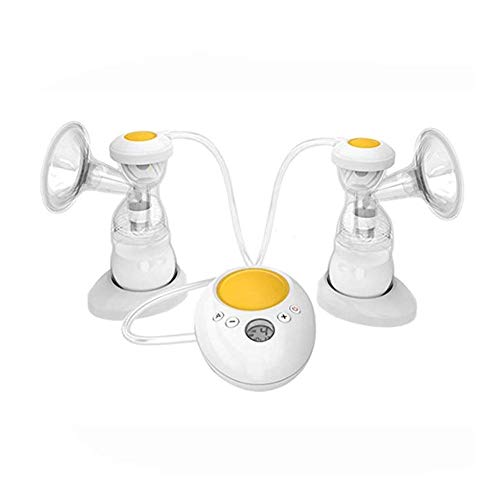 Best Deals! LMLSHXNQ Electric Breast Pump, Double Suction, Large Silent and Comfortable Automatic Mi...