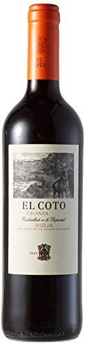 El Coto Rioja Vino Tinto - 3 botellas de 75 cl (Total: 2.25 l)