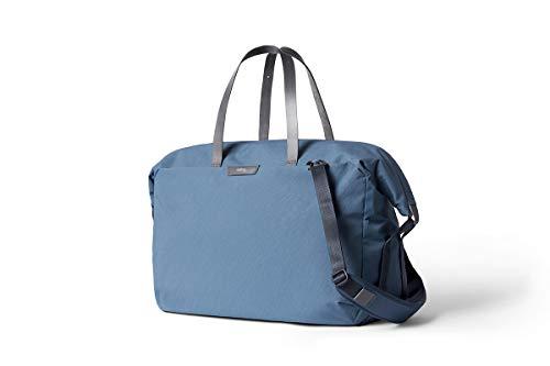"""Bellroy Weekender Plus (13"""" Laptop, durchdachte Innenfächer, Abnehmbarer Schultergurt, Weite Öffnung) - Marine Blue"""
