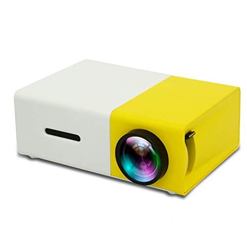 YPJKHM Home Mini Proyector portátil Full HD LED proyector...