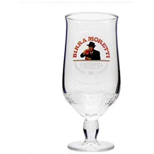 Birra Moretti - Vaso de cerveza