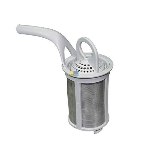 DL-pro Sieb passend für AEG Electrolux Privileg Ikea 5029777400/7 Feinsieb 50297774007 komplett mit Griff für Geschirrspüler Spülmaschine