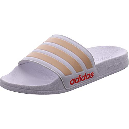 adidas Adilette Shower, Slide Sandal Mujer, Mehrfarbig Ftwbla Rubhal Rojsol, 36 2/3 EU