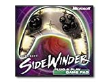 Microsoft SideWinder Game Pad USB - Game pad - 4 button(s) - black, metallic silver