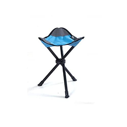 SJYDQ Pequeño Triángulo de heces Camping heces Oxford Tela cómoda Utilidad sólida Durable Silla de Playa for Viajar Camping