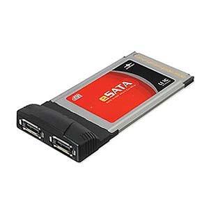 Vantec UGT-ST350CB 2-Port eSATA II-150 PCMCIA CardBus (Black)