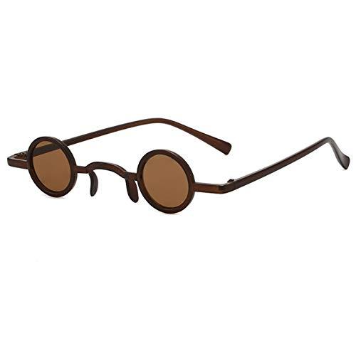 JXZPL Gafas de Sol Classic Vintage Gothic Simplicity Style Cool Gafas de Sol Pequeñas Gafas de Sol Punk Punk UV400 (Lenses Color : #10)