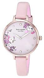 Rose Gold, Blush Floral Stainless Steel Quartz Watch