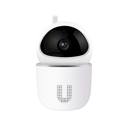 QqHAO WiFi Baby Monitor 1080P Baby Sleep Monitor, Smart Camera Vision Nocturne Suivi Automatique à Deux Voies Interphone Babyphone