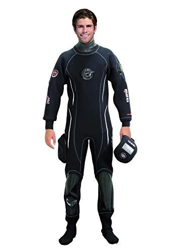 Mares Drysuit Pro Fit NP SMU - Traje de Buceo Unisex, Color Blanco, Talla L