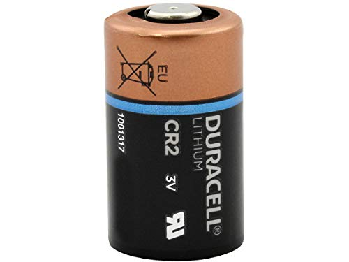 2 DURACELL CR2 3v Lithium Photo Batteries