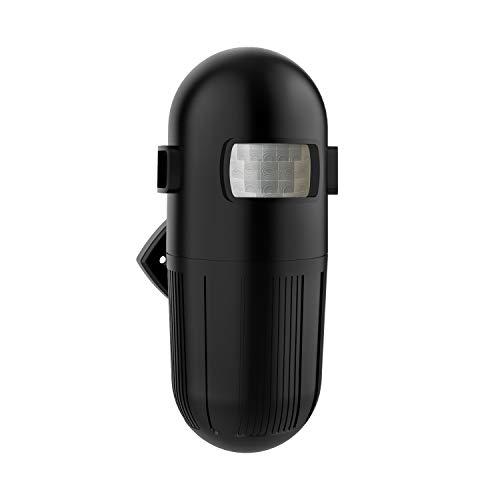 Wireless Driveway Alarm, Motion Detector, Outdoor Motion Sensor Weather Resistant (1 Black Sensor Only)