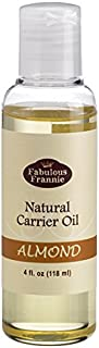 Sweet Almond 4oz Carrier Oil Base Oil for Aromatherapy, Essential Oil or Massage