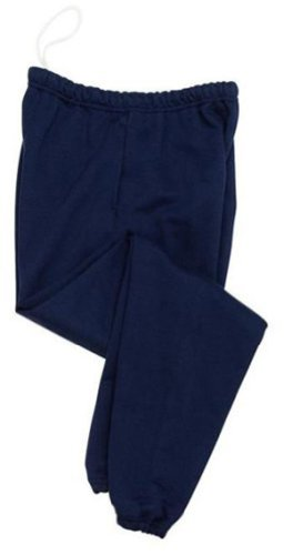 Jerzees Super Sweats - Sweatpant with Pockets, Medium, Navy