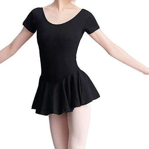 WyaengHai Traje De Ballet Gimnasia Femenina Bailar Ballet Mono De Manga Corta...