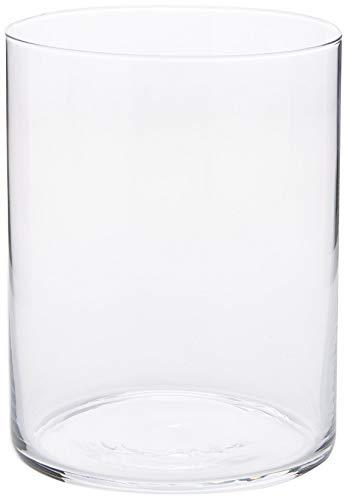 Dkristal Capri Vaso para Combinados, 0.5 L, Cristal, 8x8x9.5 cm, 6 Unidades