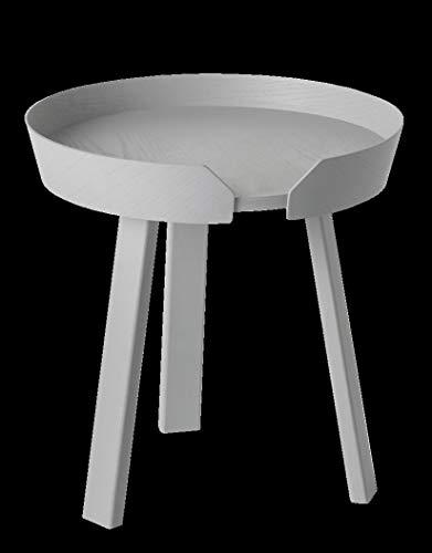 TYZXR Verstellbarer runder Massivholztisch Kleines Apartment Ablagefach Couchtisch Kombinationstisch Couchtisch Größe optional Drehbar (Farbe: B, Größe: 720 * 375MM)
