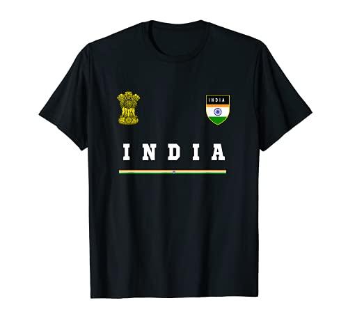 Indien Sport/Fußball-Trikot mit Flagge, Fußball T-Shirt