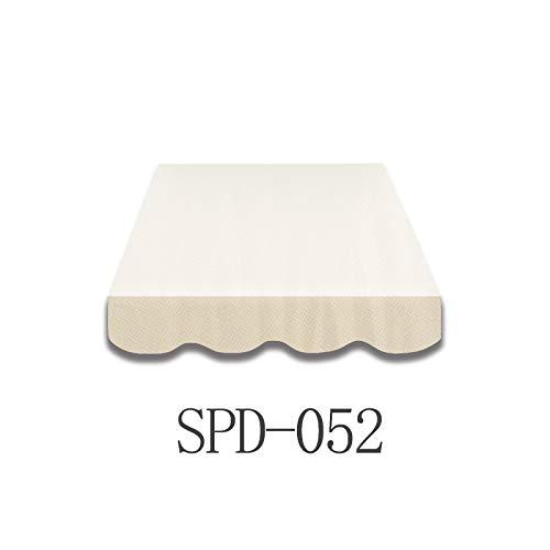 Home & Trends Markisen Volant Markisenbespannung Ersatzstoffe Polyester Maße 6 x 0.23 m Markisenstoffen fertig genäht mit Bordeux (SPD052)