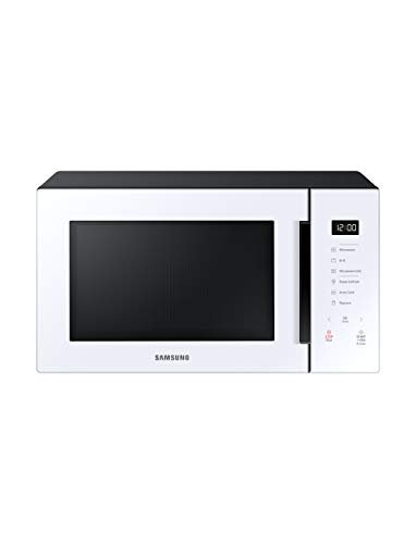 Samsung MG11T5018CW Counter Top Grill Microwave, 1.1 Cu. Ft, White