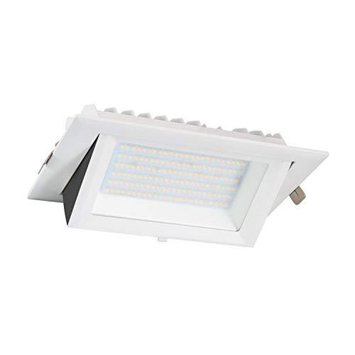 LEDKIA LIGHTING Foco Proyector LED 130lm/W Direccionable Rectangular Design 60W LIFUD Blanco Neutro 4500K - 5000K