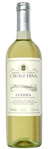 6 x Custoza Bianco DOC tr. 2018 Cavalchina im Sparpack, trockener Weisswein aus Venetien
