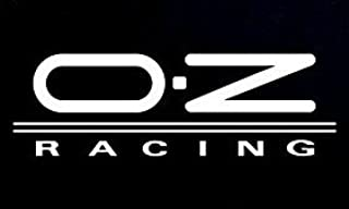 OZ Racing Logo Decal Vinyl Sticker|Cars Trucks Vans Walls Laptop| WHITE |5.5 x 1.75 in|CCI841