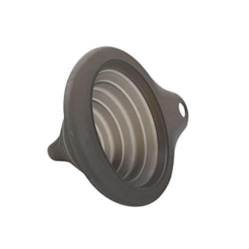 Tupperware Küchenhelfer Trichter Mini-Max Trichter schwarz Faltbarer Trichter